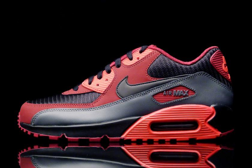 Nike Air Max 90 Essentiel - Équipe Rouge Noir